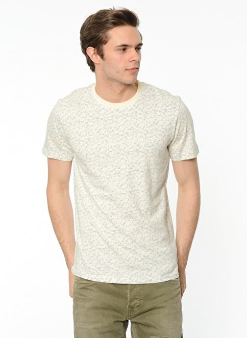 Selected Desenli T-Shirt Renkli